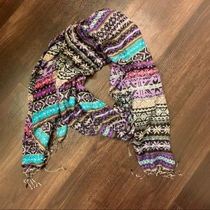 Tolani 100% silk scarf from Anthropologie